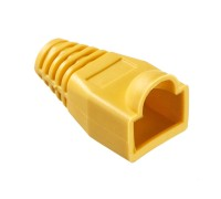 Изолирующий колпачок для RJ45 жёлтый, 100шт.Netko