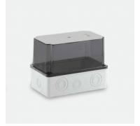 210x120x160 Распределительная коробка ABS, прозрачная крышка, HF, IP65