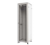Шкаф напольный 36U серия TE (600х600х1805), передняя дверь стекло, серый, разобранный Netko (упакован в 2 коробки)