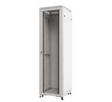 Шкаф напольный 32U серия TE (600х800х1610), передняя дверь стекло, серый, разобранный Netko (упакован в 3 коробки)